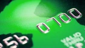 karciany kredytowy macro obraz stock
