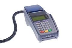 karciany kredytowy terminal Obraz Royalty Free