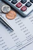 karciany kredytowy wydatki obraz royalty free