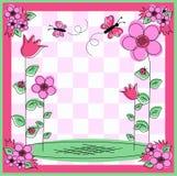 karciany kwiat ilustracji