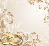 karciany ślub Obraz Royalty Free