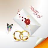 karciany ślub Obrazy Royalty Free