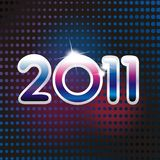 karciany nowy rok Obrazy Stock