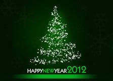 karciany nowy rok Obraz Stock
