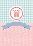 Karciany projekt dla powitania, urodziny, zaproszenia i przyjęcia, Obraz Stock