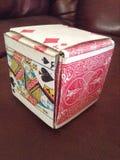 Karciany pudełko Zdjęcie Royalty Free