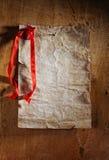 karciany retro valentine Obrazy Stock