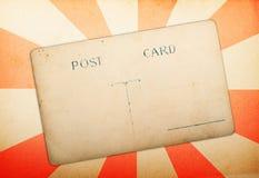 karciany stary papierowy poczta promieni rocznik Obrazy Royalty Free