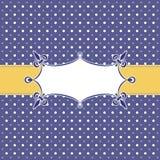 karciany szablon Obrazy Royalty Free