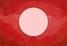 Karciany szablon dla projekta Obraz Stock