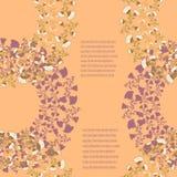 Karciany szablon dla projekta Fotografia Royalty Free