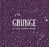 Karciany szablon z ręka malującym grunge tłem Elegancki prosty projekt i modni kolory Fotografia Royalty Free
