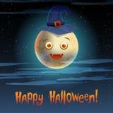 Karciany Szczęśliwy Halloween Obrazy Stock