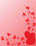 karciany valentine Zdjęcia Royalty Free