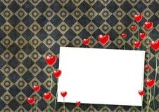 karciany valentine Obrazy Stock