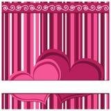 karciany valentine Zdjęcia Stock