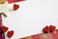 karciany valentine Obraz Stock
