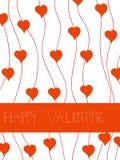 karciany valentine Fotografia Royalty Free