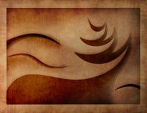 karcianych bożych narodzeń ilustracyjny retro stylizowany Obrazy Stock