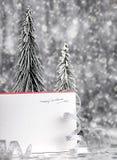 karcianych bożych narodzeń szczęśliwy wakacje Fotografia Royalty Free