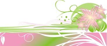 karcianych chryzantem dekoracyjna kwiecista rama Zdjęcia Stock