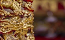 2012 karcianych smoka złocistych ilustracyjnych nowych wektorowych rok Fotografia Stock