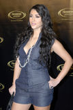 kardashian κόκκινο του Kim ταπήτων Στοκ φωτογραφία με δικαίωμα ελεύθερης χρήσης