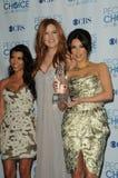 kardashian khloe Kim kourtney Obraz Stock