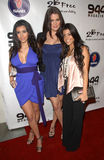 kardashian kourtney του Kim Στοκ εικόνα με δικαίωμα ελεύθερης χρήσης
