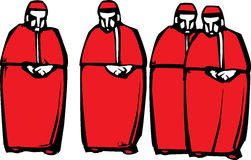 Kardinäle Stockbild