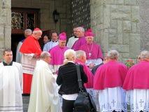 KardinalDominik Duka primat av Tjeckien, dominikan a Royaltyfri Bild