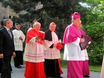 KardinalDominik Duka primat av Tjeckien, dominikan a Fotografering för Bildbyråer
