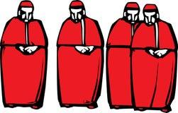 Kardinalen Stock Afbeelding