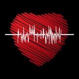 kardiogram Fotografia Royalty Free