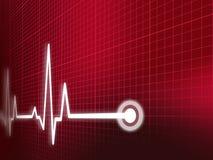 kardiogram Zdjęcie Stock