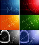 kardiogram Fotografia Stock
