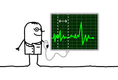 kardiolog Fotografia Stock