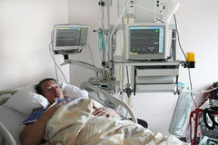 Kardiologiepatient Stockfotos