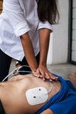 Kardiopulmonale Erweckung Stockfotos