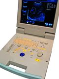 Kardiovaskuläres Überwachungsgerät der Farbe, digitale Diagnose, stockfotos