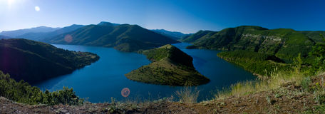 Kardjali lake Bulgaria Stock Photography