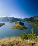 Kardjali lake Bulgaria Royalty Free Stock Image