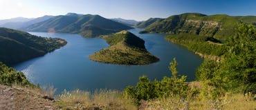 Kardjali lake Bulgaria Royalty Free Stock Photos