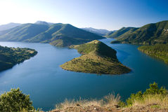 Kardjali lake, Bulgaria Royalty Free Stock Images