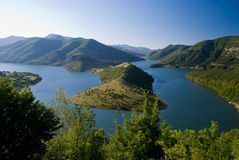 Kardjali lake, Bulgaria Royalty Free Stock Photos