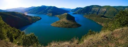 Kardjali See Bulgarien Stockbilder