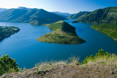 Kardjali See, Bulgarien lizenzfreie stockfotografie