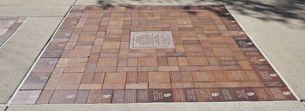 Kardynała spacer sławy muzeum, śródmieścia St Louis, Missouri Zdjęcie Royalty Free