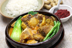 Kare Kare, филиппинское тушёное мясо oxtail Стоковое Фото