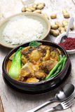 Kare kare, filipino oxtail stew Royalty Free Stock Photography
